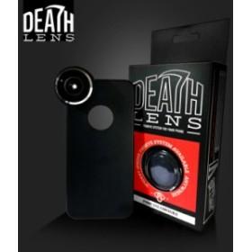 DEATH LENS iphone レンズ アイホン用 広角レンズ【FISHEYE ANGLE LENS 】魚眼 【5C/5/5S/6/6Plus用】【返品種別SALE】