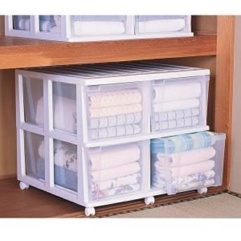 押入れチェスト 深型 収納ケース OCD-744 アイリスオーヤマ 収納棚 衣装ケース 幅74 奥行70 家具