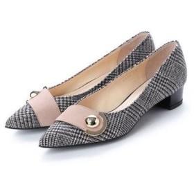 アンタイトル シューズ UNTITLED shoes パンプス (ベージュファブリック)