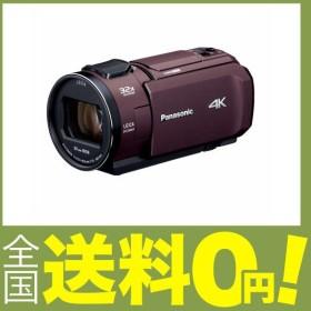 パナソニック 4K ビデオカメラ VZX1M 64GB あとから補正 ブラウン HC-VZX1M-T
