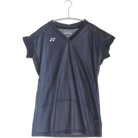 ヨネックス YONEX テニスTシャツ シャツ(スリムロングフィットタイプ) 20297 ブラック (ブラック)
