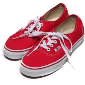 ヴァンズ VANS CHAPTER Authentic(RED)