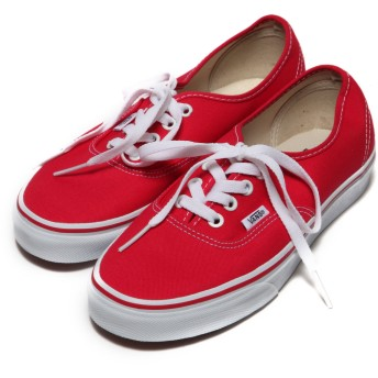ヴァンズ VANS CHAPTER Authentic(RED)