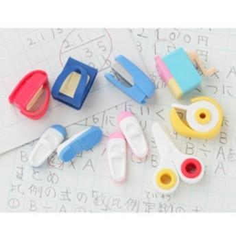 イワコーおもしろけしごむ60個入(学校) 送料無料 消しゴム 日本製 販促 景品 ノベルティ おまけ 子供会