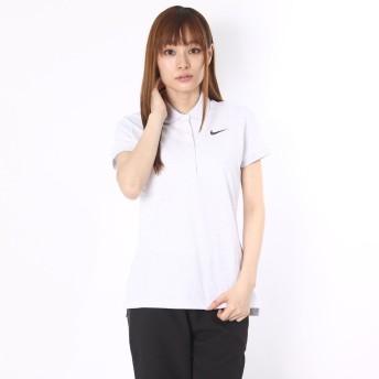 ナイキ NIKE ゴルフシャツ ナイキ Ws DRI-FIT プレシジョンピケSSポロ 725632 (バーチヘザー)
