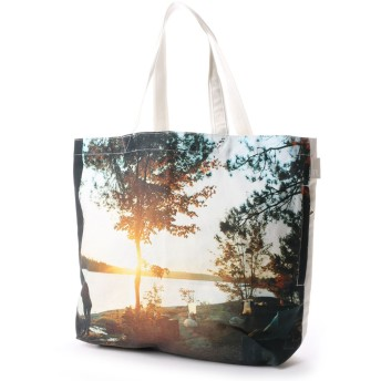 ROOTOTE ルートート MED. SC. PhotALake トートバッグ