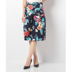 VICE VERSA フラワープリントスカート