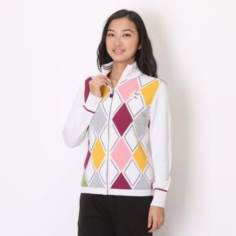 マンシングウェア Munsingwear ゴルフセーター SL4058 (ホワイト)