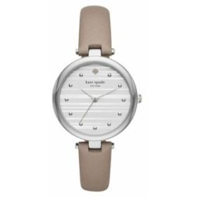 Kate Spade ケイトスペード シルバー ヴァリック ストラップ ウォッチ 腕時計 Silver Varick Strap Watch
