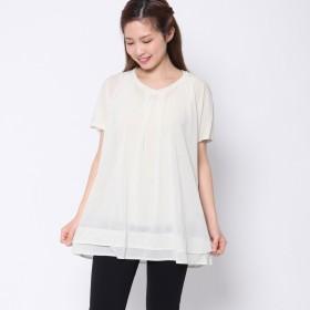 ファイン FINE (Rename) コットンTシャツ (オフホワイト)