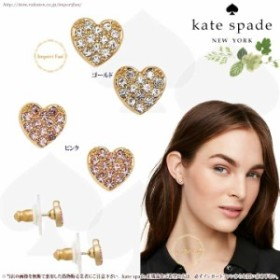 Kate Spade ケイトスペード ラブ リスト ハート スタッド ピアスlove list heart stud earrings 正規