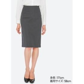 ストレッチタイトスカート(無地・ストライプ・ロング丈・62~64cm)セットアップ可能