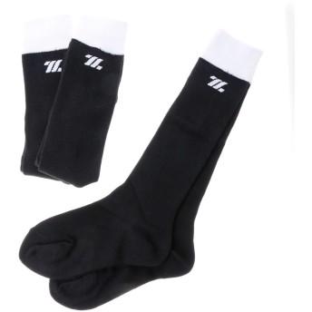 ゼット ZETT ジュニア 野球 ソックス カラーアンダーソックス3足組(ブラック) BK3CBSS