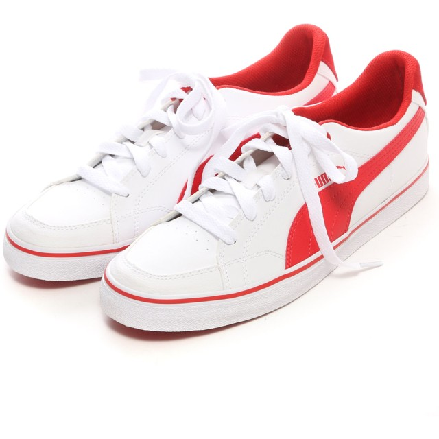 プーマ PUMA atomos PUMA COURT POINT VU (WHITE)