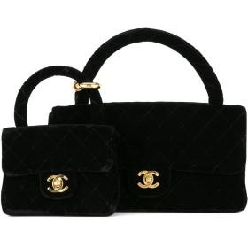 Chanel Vintage ハンドバッグ セット - ブラック