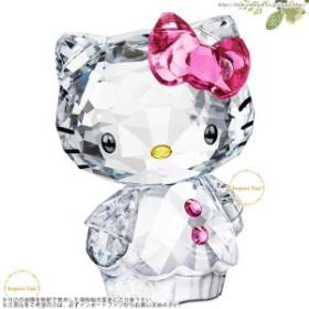 スワロフスキー ハローキティ ピンクボウ 1096877  Swarovski Hello Kitty Pink Bow  置物 □