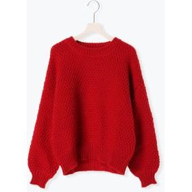 ニット・セーター - Melan Cleuge 鹿の子編みプルオーバー
