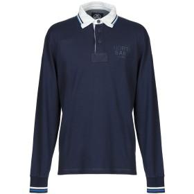 《期間限定セール中》NORTH SAILS メンズ ポロシャツ ダークブルー S コットン 100%
