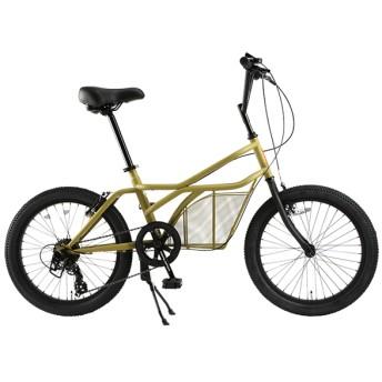 DOPPELGANGER 330-C-BG ベージュ ロードヨット/カーゴタイプ [ミニベロ(20インチ・7段変速)] 折りたたみ自転車・ミニベロ