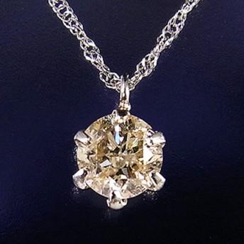 Pt900 ダイヤモンド0.3ctネックレス レディース