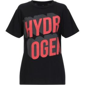 《セール開催中》HYDROGEN レディース T シャツ ブラック S コットン 100%
