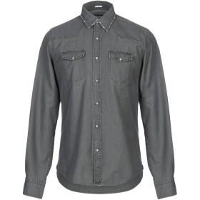 《期間限定セール開催中!》S.S.N.Y. メンズ デニムシャツ 鉛色 38 コットン 100%