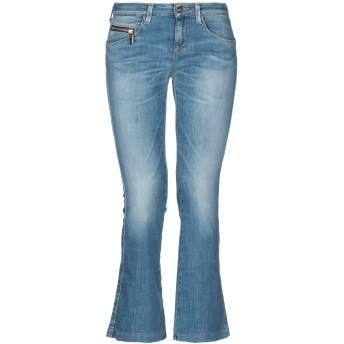 《セール開催中》KAOS JEANS レディース ジーンズ ブルー 27 コットン 66% / 指定外繊維(テンセル) 17% / ポリエステル 15% / ポリウレタン 2%
