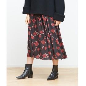 Rouge vif la cle / ルージュ・ヴィフ ラクレ ベルト付きフラワースカート