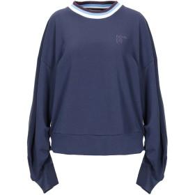 《期間限定 セール開催中》LEE レディース スウェットシャツ ブルーグレー XS コットン 100%