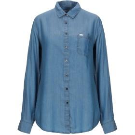《セール開催中》LEE レディース デニムシャツ ブルー XS テンセル 100%