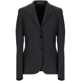 《期間限定セール開催中!》MANUEL RITZ レディース テーラードジャケット ブラック 42 ポリエステル 54% / ウール 44% / ポリウレタン 2%
