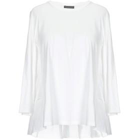 《期間限定 セール開催中》SCAGLIONE レディース T シャツ ホワイト XS コットン 100%