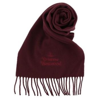 Vivienne Westwood ヴィヴィアンウエストウッド マフラーボルドー 81030007-10638 I401