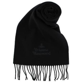 Vivienne Westwood ヴィヴィアンウエストウッド マフラーブラック 81030007-10638 N401