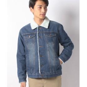 【20%OFF】 スタイルブロック 裏ボアGジャン メンズ ブルー XL 【STYLEBLOCK】 【タイムセール開催中】