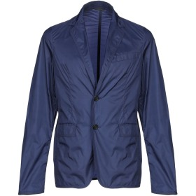 《セール開催中》JIL SANDER メンズ テーラードジャケット ブルーグレー 44 ナイロン 100%
