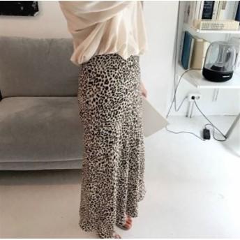 レオパード柄 フレアスカート Mサイズ