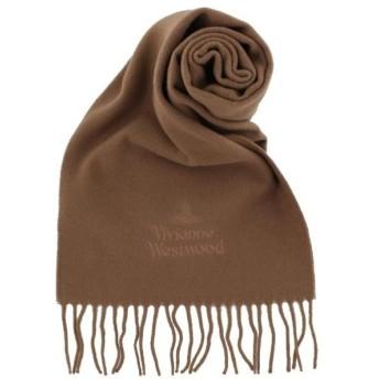 Vivienne Westwood ヴィヴィアンウエストウッド マフラーキャメル 81030007-10638 C401