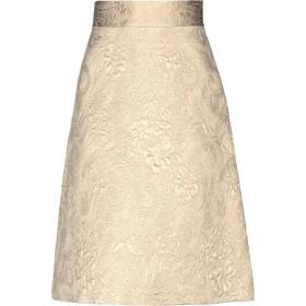 《送料無料》REDValentino レディース ひざ丈スカート サンド 40 コットン 60% / ポリエステル 36% / 指定外繊維 2% / ナイロン 2%