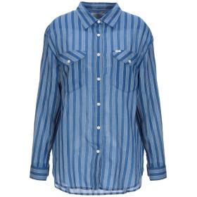 《セール開催中》LEE レディース シャツ ブルー XS コットン 99% / 金属 1%