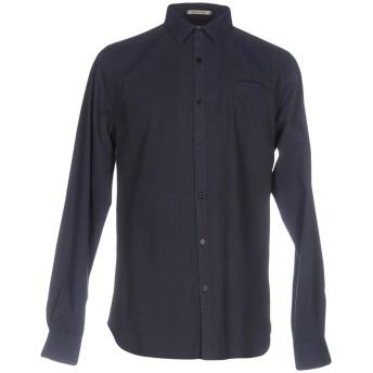 《セール開催中》DSTREZZED メンズ シャツ ダークブルー S コットン 100%