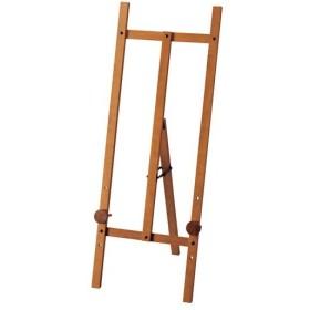 ユーパワー WE-06001 木製イーゼル Lサイズ ミドルブラウン