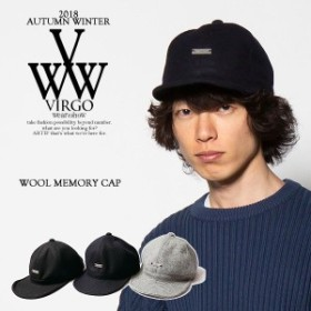 VIRGO ヴァルゴ WOOL MEMORY CAP virgo メンズ キャップ 送料無料 ストリート atfcap