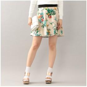 LOVELESS 【LOVELESS】WOMENS モノグラムフレアスカート その他 スカート,ピンク