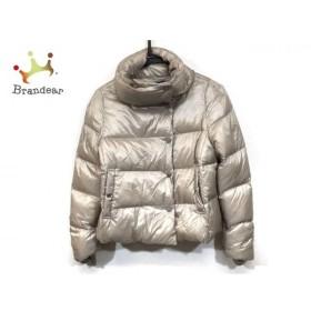 アンタイトル UNTITLED ダウンジャケット サイズ2 M レディース ベージュ 冬物  値下げ 20190602【人気】
