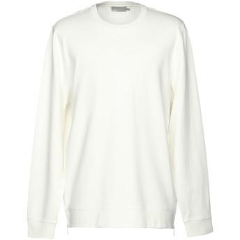 《9/20まで! 限定セール開催中》VINCE. メンズ スウェットシャツ ホワイト S 100% コットン
