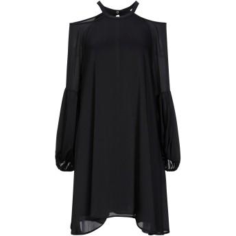 《セール開催中》,MERCI レディース ミニワンピース&ドレス ブラック 42 ポリエステル 100%