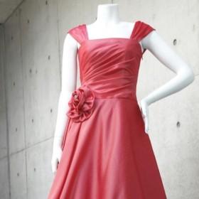 演奏会・発表会に / ドレス初心者でも着やすい肌見え感と体型カバーの褒められドレス(ピンク) 1-0197-3