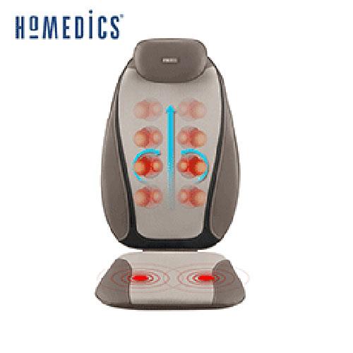 美國 HOMEDICS 指壓按摩椅墊 MCS-380H   ■ 椅墊內置雙震動器