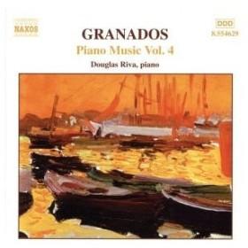 【輸入盤】Piano Music 4/EnriqueGranados(作曲),DouglasRiva(Piano)